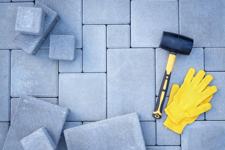 Budowa chodników i ścieżek - naprawa elementów